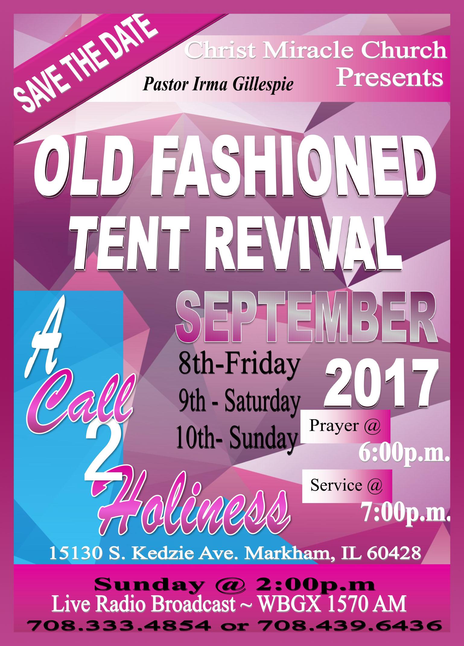 2017 Tent Revival