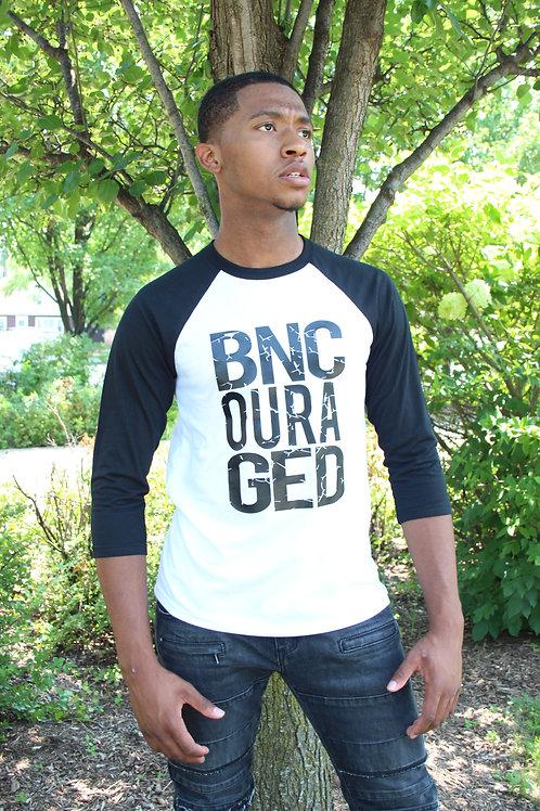 BNC Raglan-UNISEX BLK/WHT