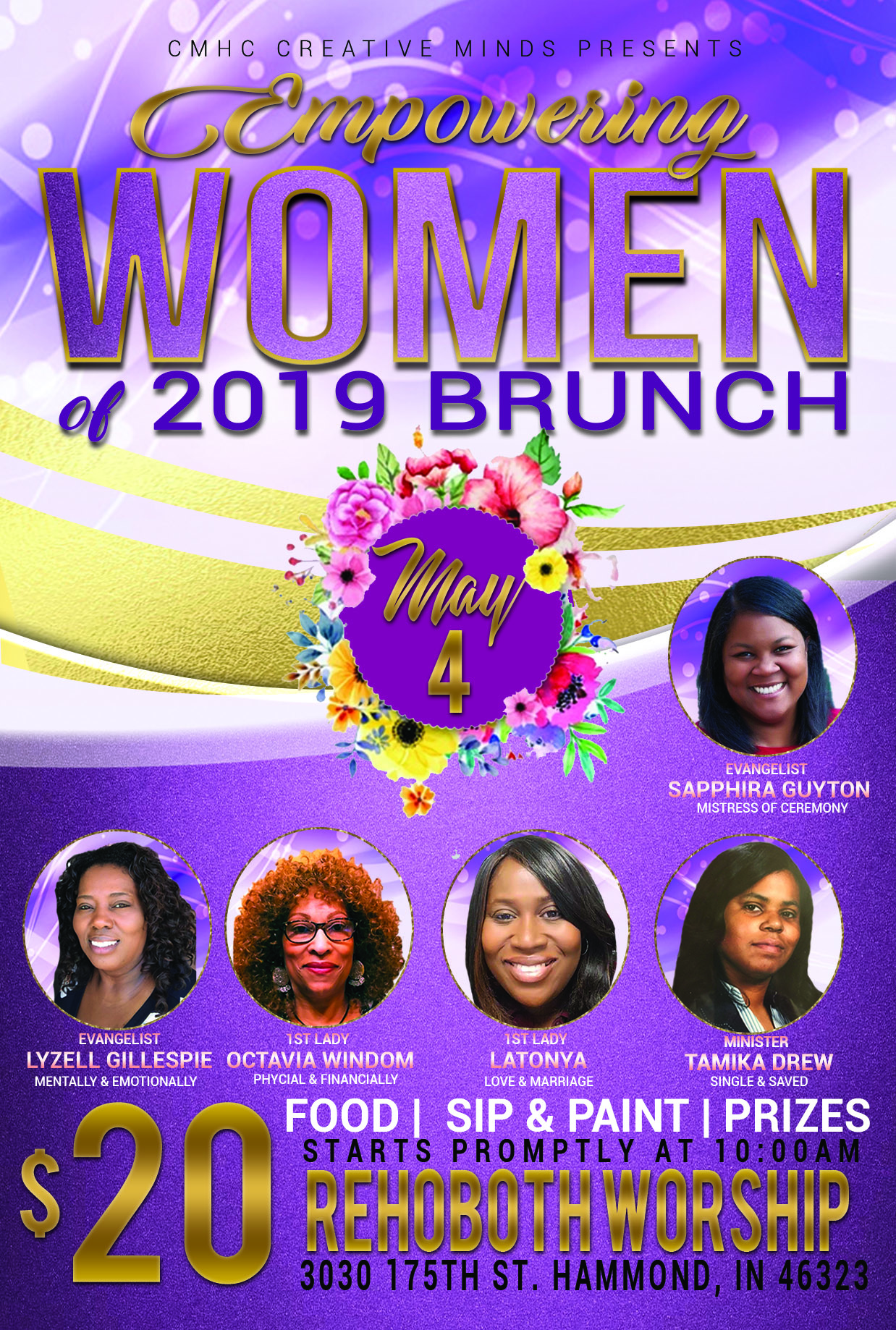 CM7 WOMENS BRUNCH BCK