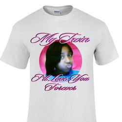 Auocean tshirt design twin