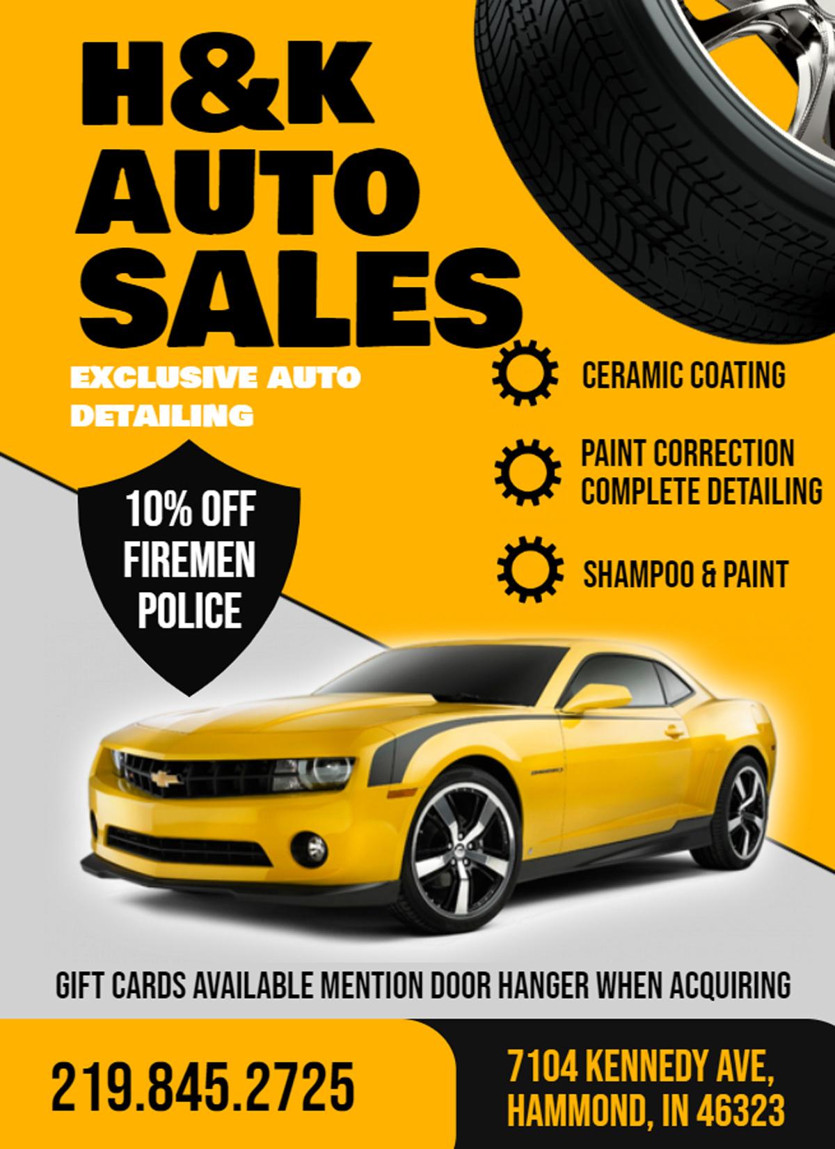 hK Auto sales
