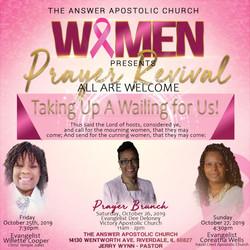 Pastor Wynn Women Prayer Revival