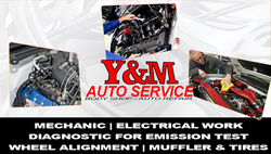 y and m auto service bc back