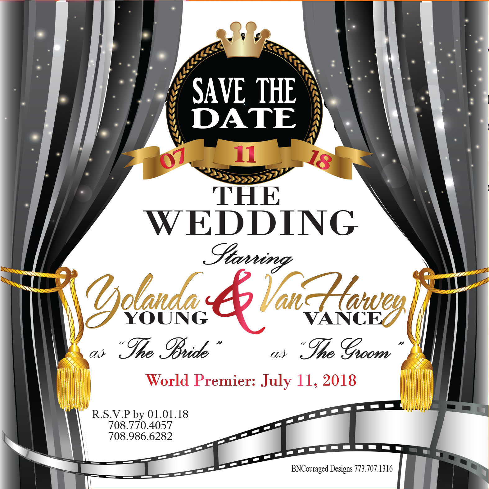 yolanda younge weddinginvite