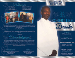 Robert Brooks Obit frt