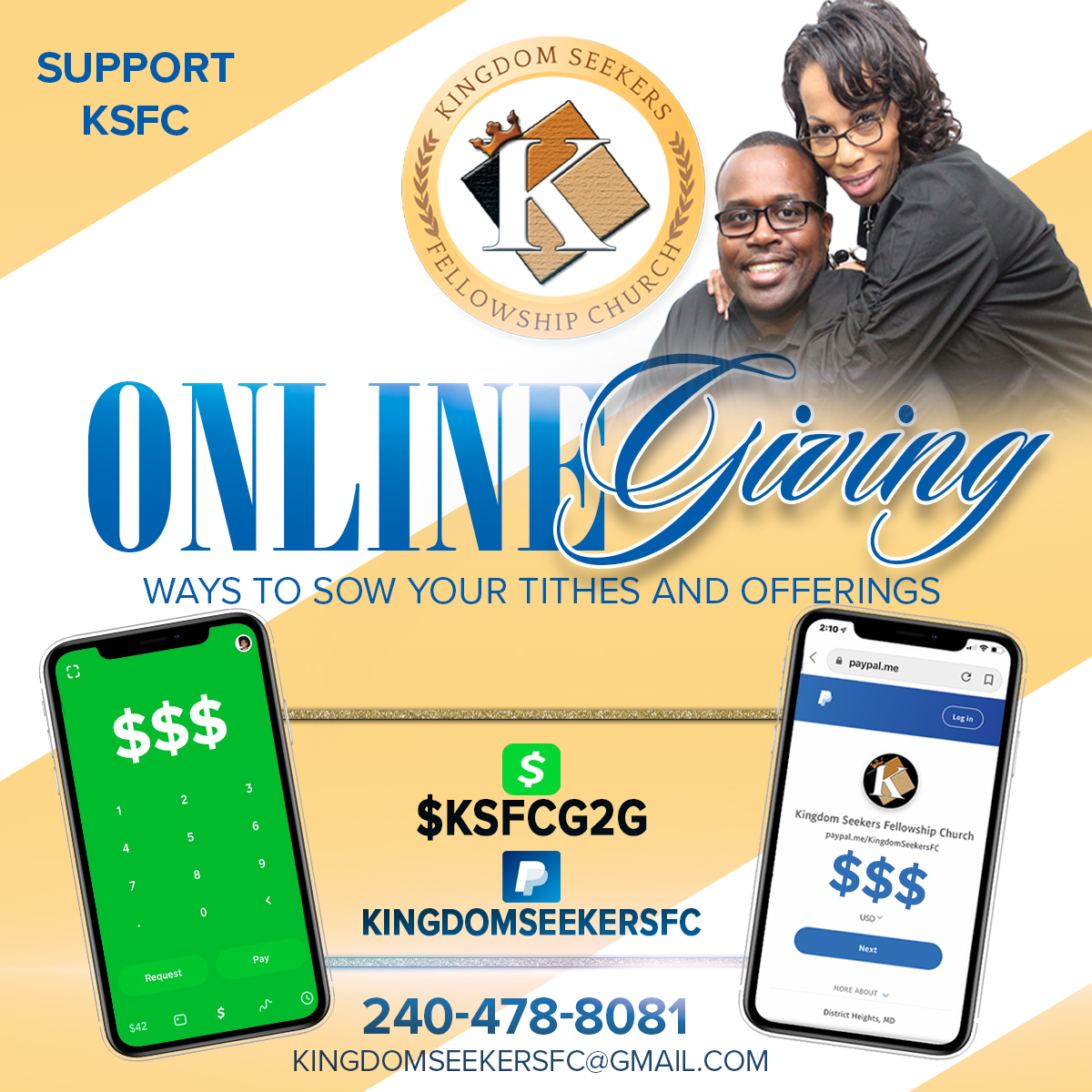 bernrd blackmon online giving