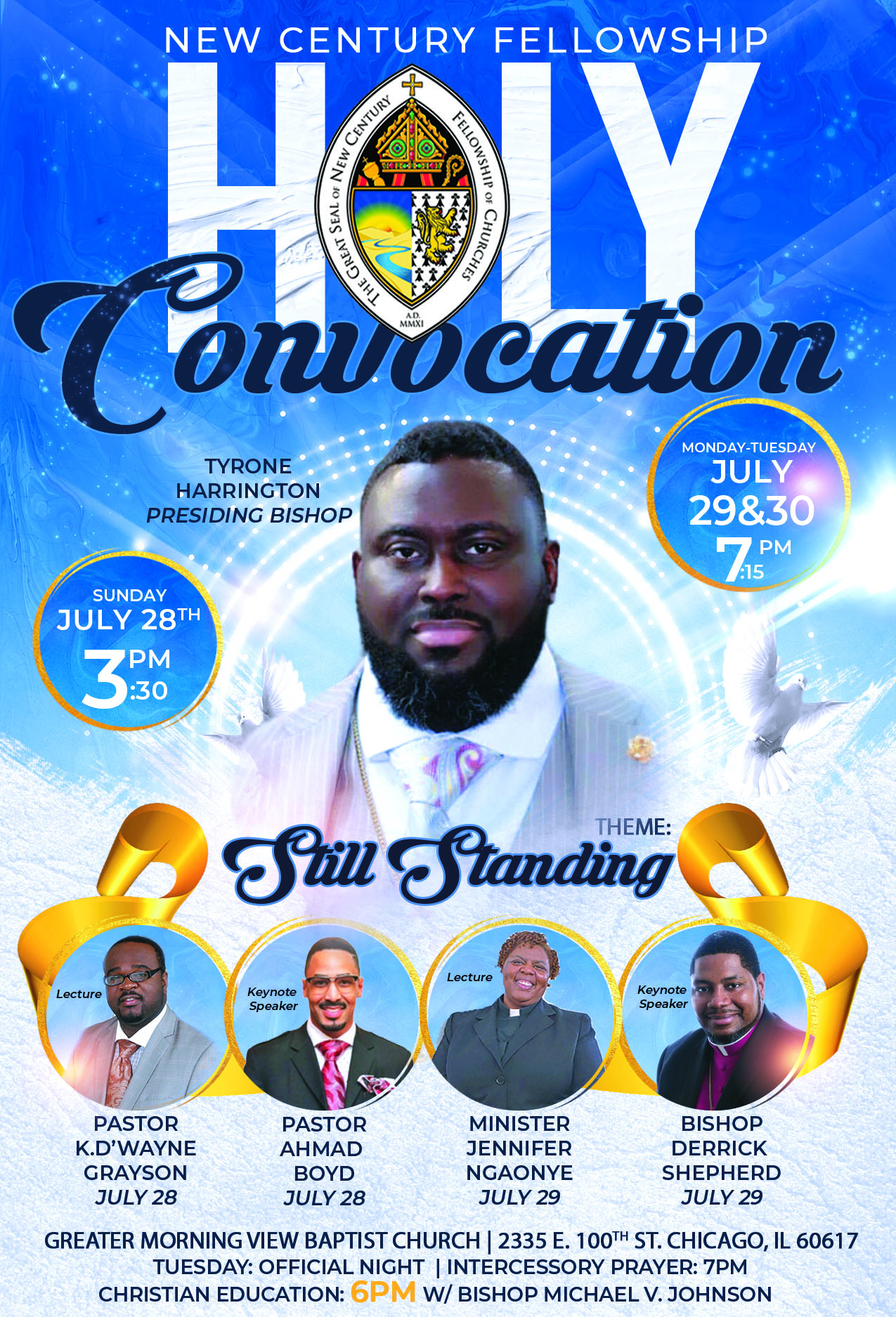 harrington convocation flyer REVISED