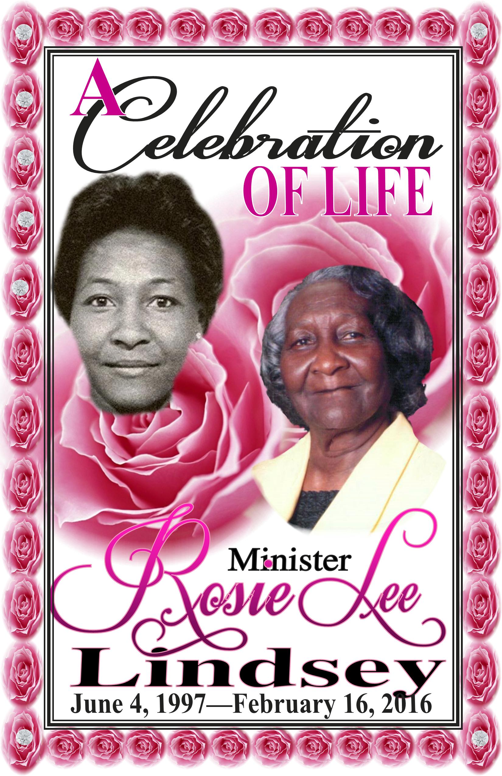 Rosie Lee Lindsey
