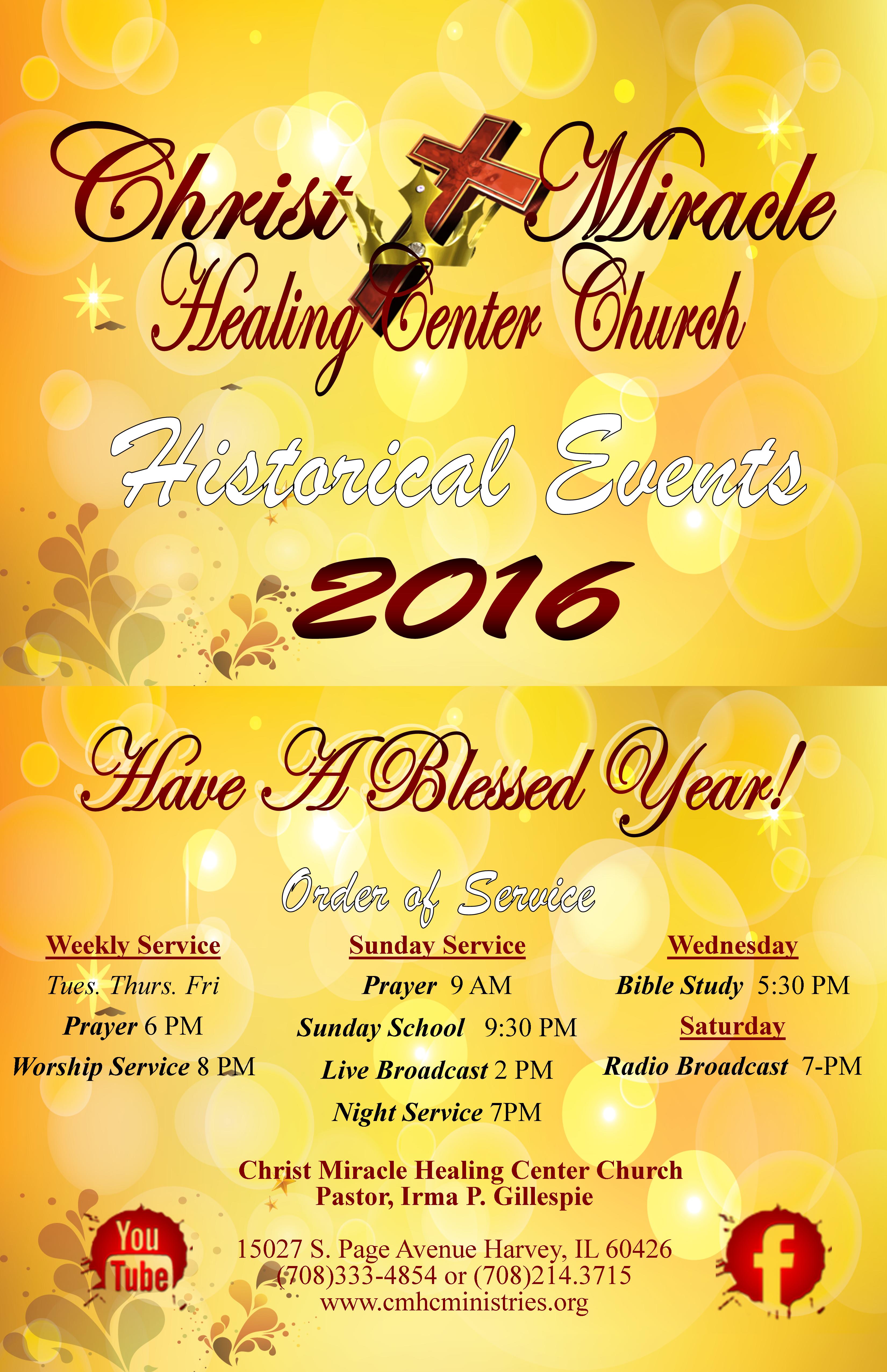 CMHC Calendar 2016. 11x17 1