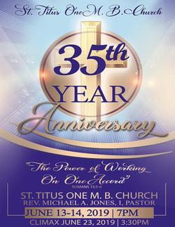 35TH Anniversary Geri Jones