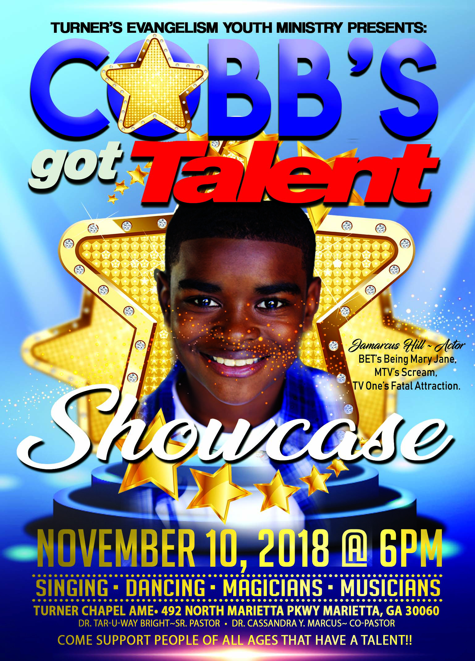 COBBS Talent Show FRONT