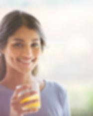 Girl Enjoying her Drink