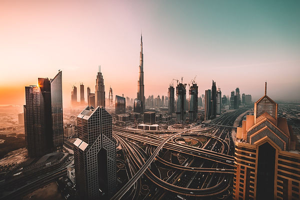 4 - Sunrise shot of Downtown Dubai.jpg