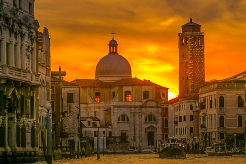 Venice Italy at Sunset