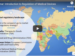 Introduction to Regulation of Medical Devices