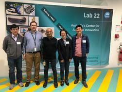 Visiting CSIRO Lab22 facility
