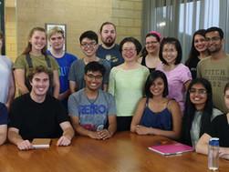 Inspiring students from the Amgen Scholars Program