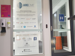 Enjoying newly refurbished offices for ARC CMIT
