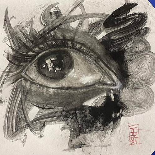 "Original ""Eye Study #1"""