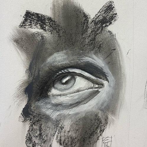 "Original ""Eye Study #2"""