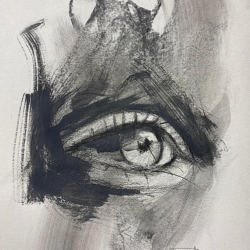 "Original ""Eye Study #4"""