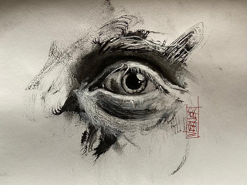 "Original ""Eye Study #6"""