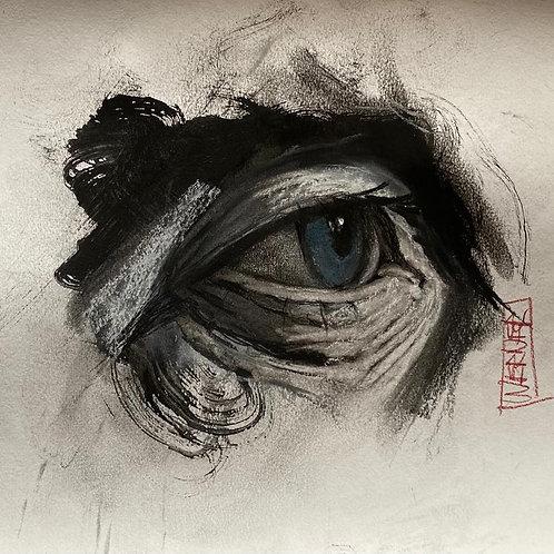 "Original ""Eye Study #5"""