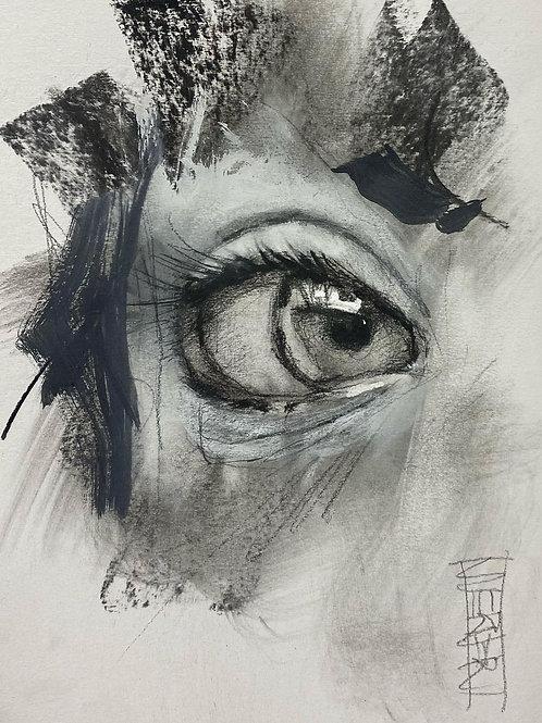 "Original ""Eye Study #3"""