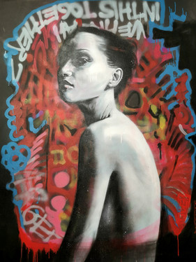 Graffiti Ballerina