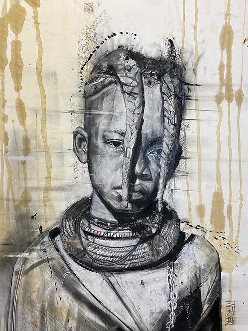 "Original ""Himba Girl"""