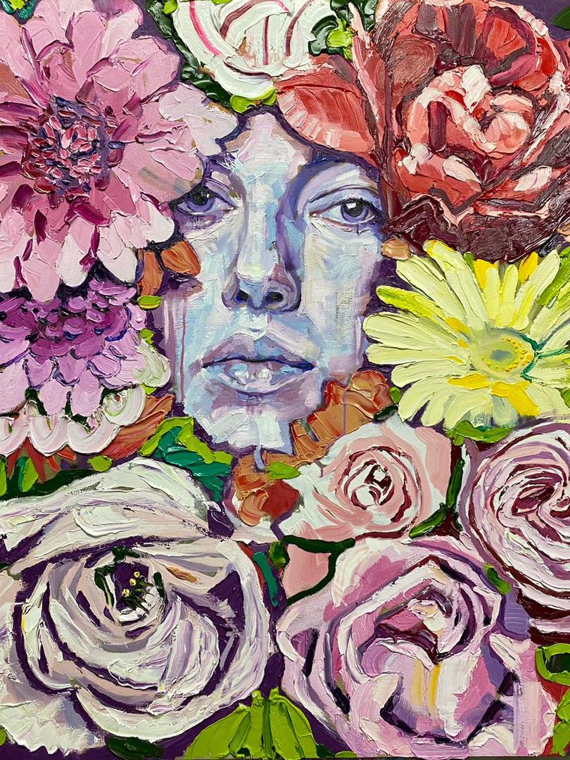 Deliciously Sensual Floral #1