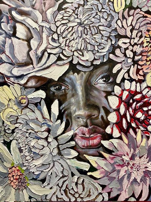 """Original """"Delicious Floral #3"""""""