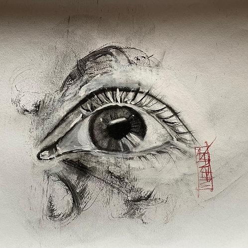 "Original ""Eye Study #7"""