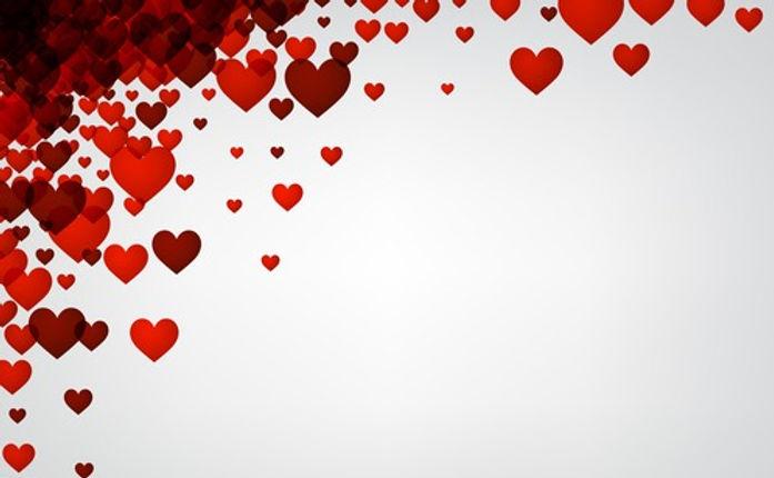 Valentine-white-background-hearts-vector