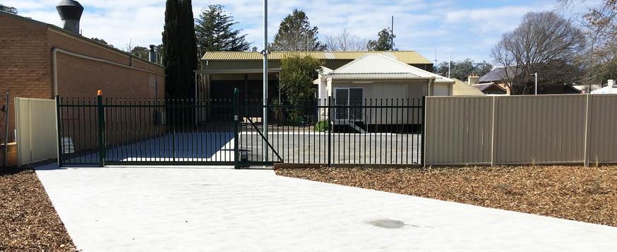 Picton Ambulance Carpark