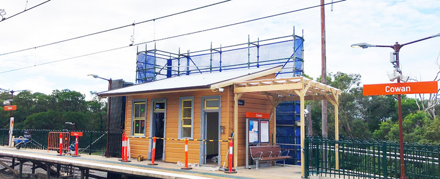 Cowan Train Station