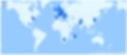 Weltweite Standorte pv.cast Nutzer