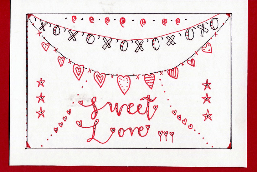 Sweet Love Greeting Card (Pack of 6)