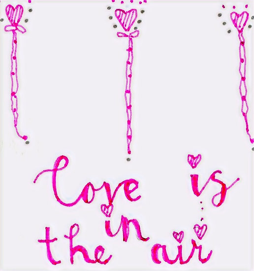 Love is in the Air Card (Pack of 6)