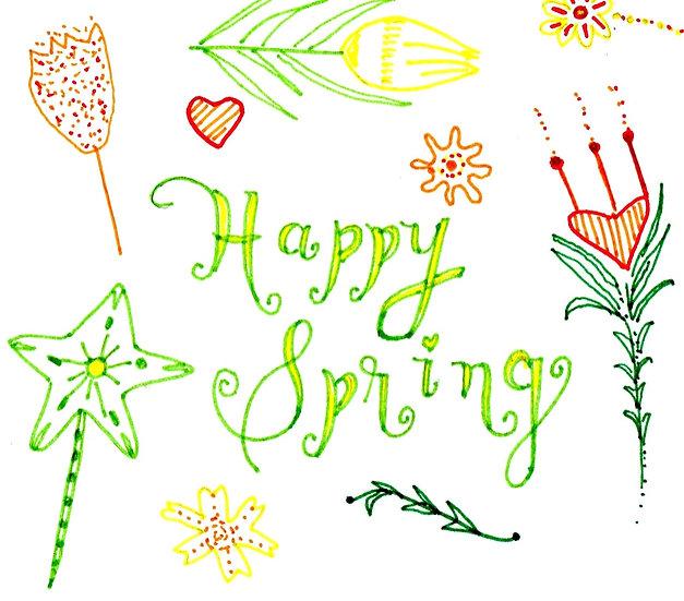 Happy Spring Notecard (Pack of 6)