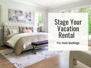Vacation Rental Staging for a Higher Booking Rate