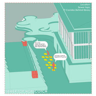 SewerTop Hopscotch
