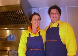friet-uurtje Rafael en Louise