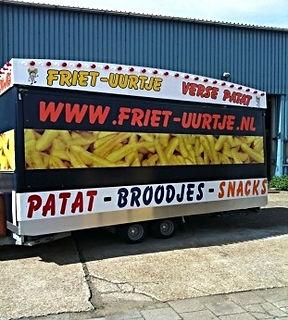 Snackwagen Friet-uurtje snackwagen verhuur