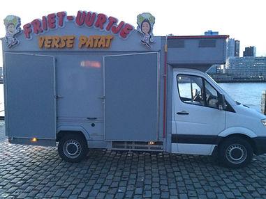 Mobiele snackwagen huren Friet-uurtje
