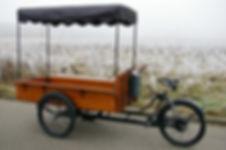 Bakfiets op Uw locatie snackwagen verhuur Friet-uurtje