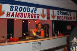 Hamburgers en Beenham Friet-uurtje