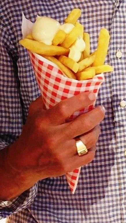 frietje mayo Friet-uurtje
