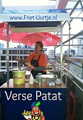 Hier op een dakterras in Centrum van Rotterdam