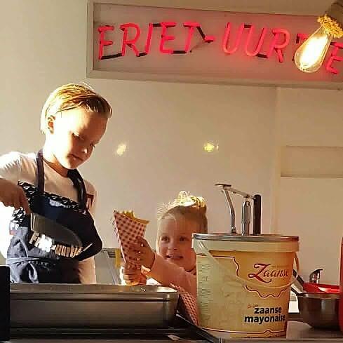 Kinderfeestje Friet-uurtje.nl